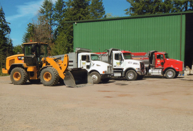 Trucks and Equipment - Indigo Topsoil Kitsap County