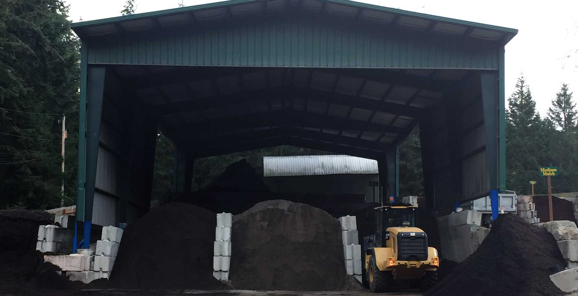 Indigo Topsoil Covered Soil